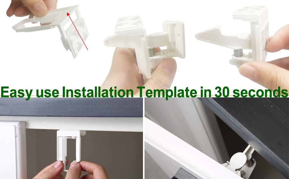 Installation template install locks
