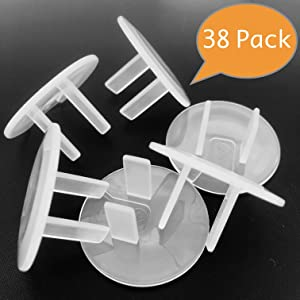 clear outlet covers baby proofing