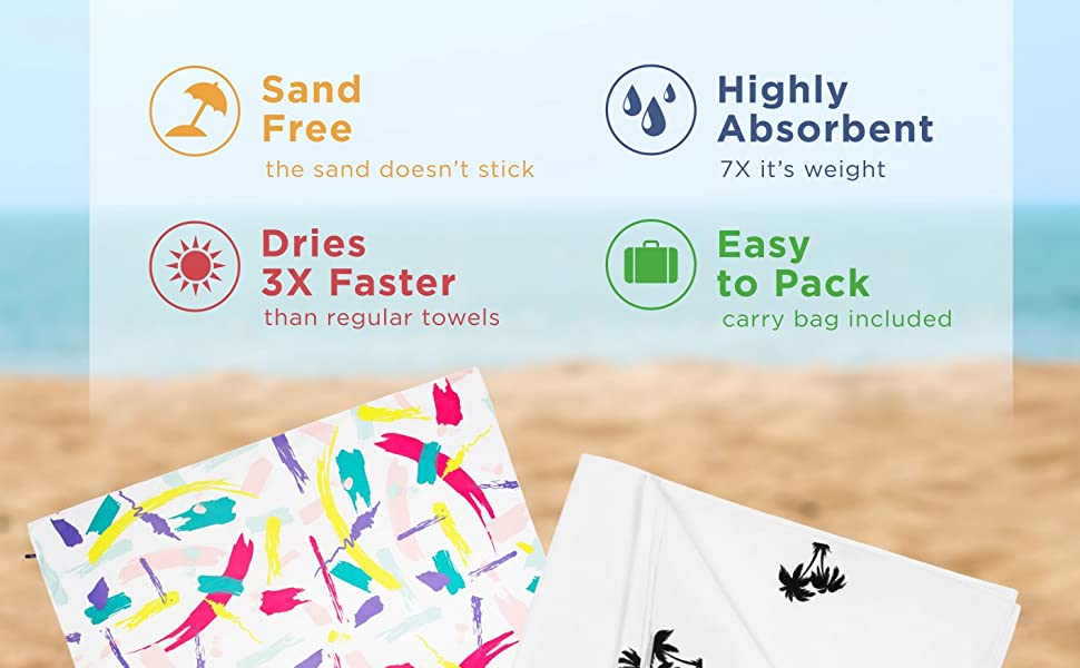 beach towels multicolor towel camping towel beach blanket toalla de playa travel towel microfiber