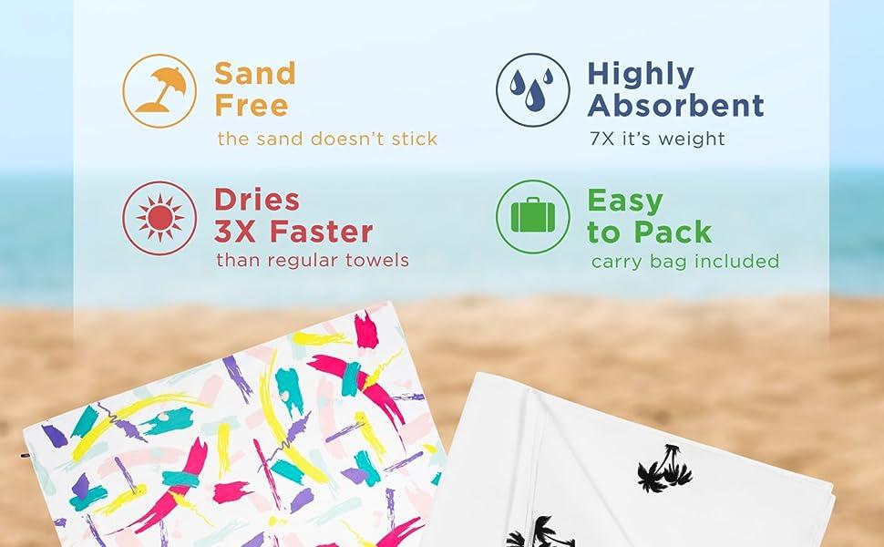 beach towels multicolor towel camping towel beach blanket toalla de playa travel towel microfiber
