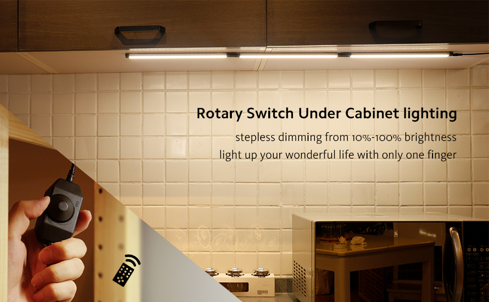 Under Cabinet Lighting Teckin Dimmable Under Counter Lights Led Closet Light With Ultra Slim