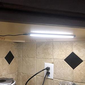 Groovy Under Cabinet Lighting Led Strip Lights Teckin Linkable Kitchen Under Counter Lighting With Touch Sensor 12W 800 Lumens Natural White 4000K Interior Design Ideas Pimpapslepicentreinfo