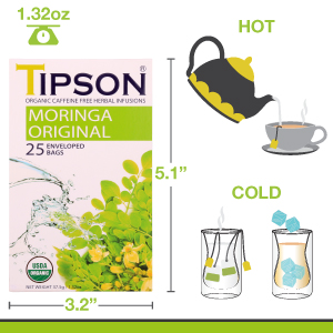 Tipson tea, hot, cold