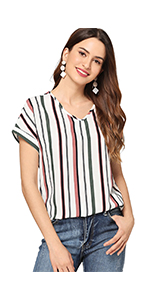 Striped Tee Blouse
