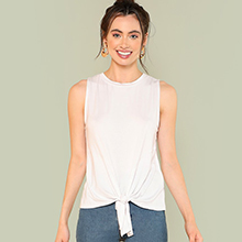 sleeveless comfy top