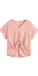 Self Tied Knot Blouse