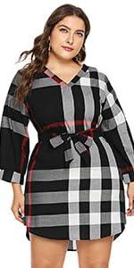 Plus Short Dress