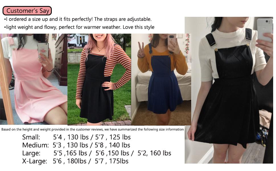 Flowy Overall Dress