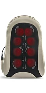 cordless back massage with heat