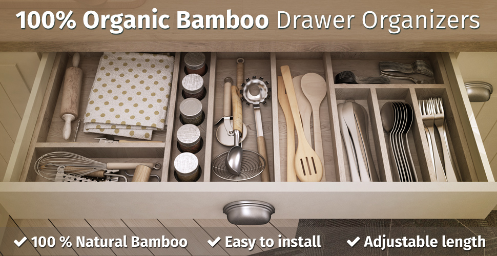 Kitchen Utensil Organizer Drawer Amazon kitchen drawer organizers spring adjustable expendable nothing takes you out of your zen place more than a mess in your drawer be ordered and achieve an unrivaled peace of mind workwithnaturefo