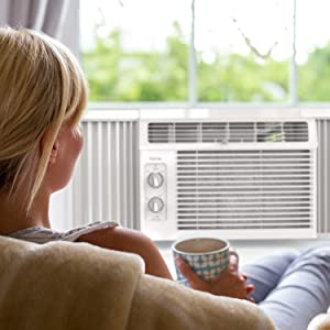 Window AC comfort