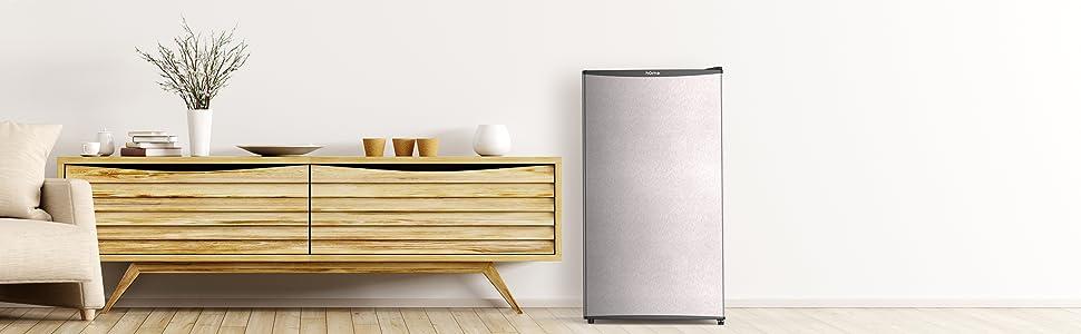 hOmeLabs Mini Fridge Refrigerator in Livingroom or Dorm