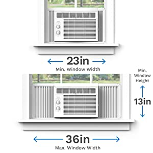Window AC installation