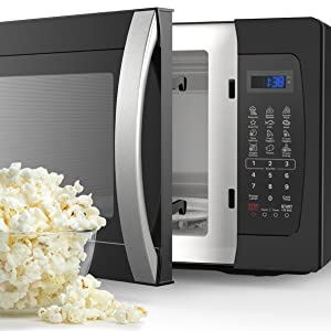 hOmeLabs Countertop Microwave with Popcorn