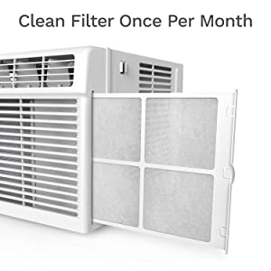 Window AC Reusable Filter