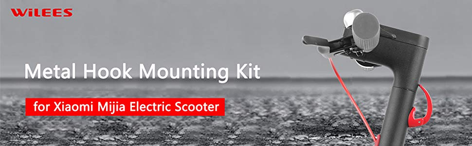 Amazon.com: WiLEES Kit de montaje de gancho de metal para ...