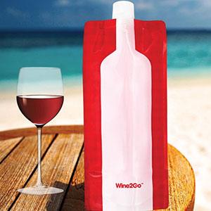 wine2go the foldable wine bottle kitchen dining. Black Bedroom Furniture Sets. Home Design Ideas