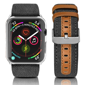 leather band for apple watch
