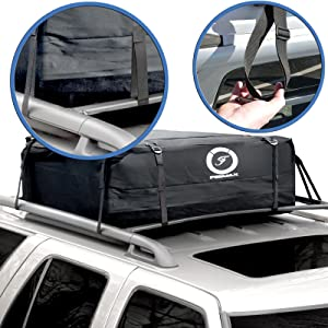 Amazon Com Fedmax Car Rooftop Carrier Waterproof Lock Included
