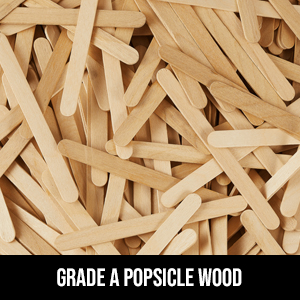 popsicle sticks craft jumbo crafts big fedmax stick large bulk 5000 wooden stir