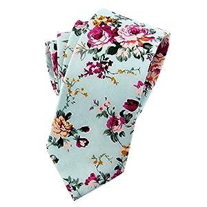 mens floral tie
