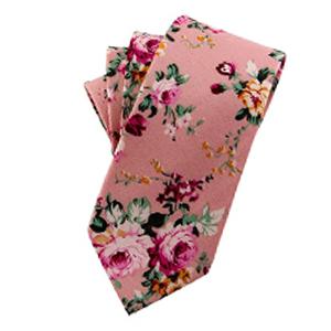 coral pink tie