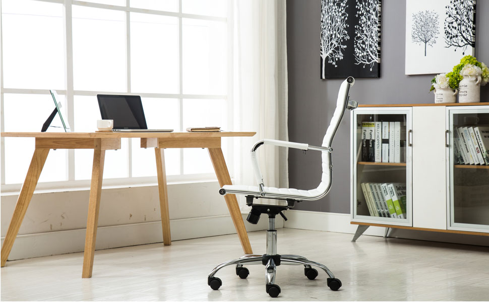 Phenomenal Btexpert White Office Conference Chair Andrewgaddart Wooden Chair Designs For Living Room Andrewgaddartcom