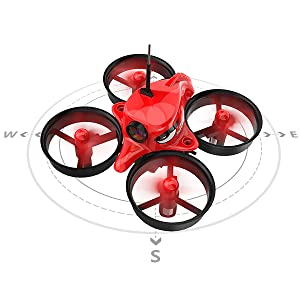 HEADLESS MODE: Great functions when the drone is out of sight. The function depends