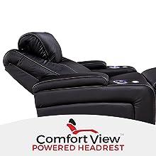adjustable powered headrest