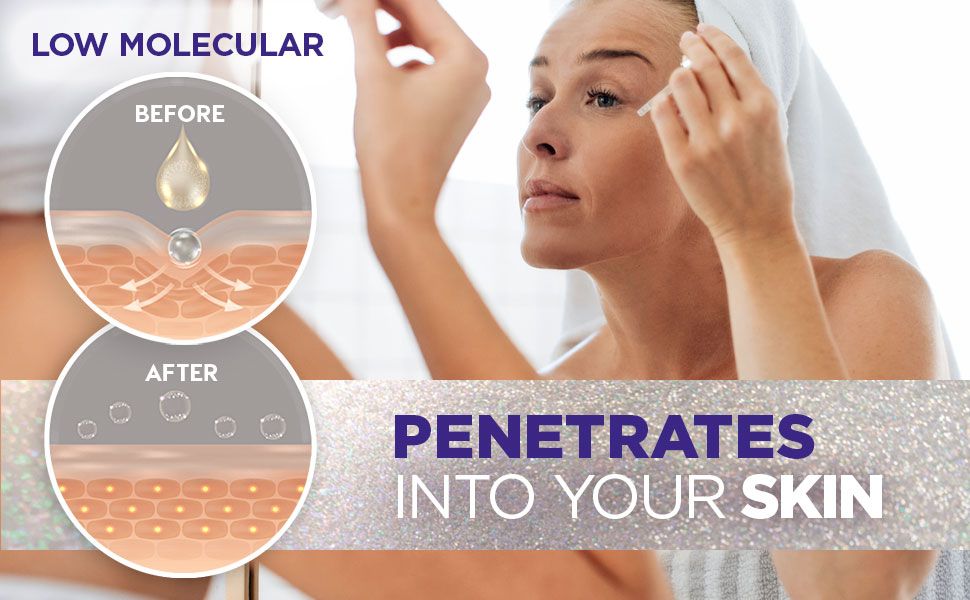 hyaluronic acid penetrates into your skin