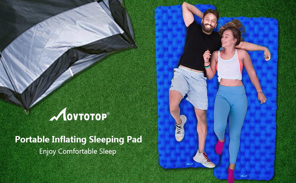 Portable sleeping pad
