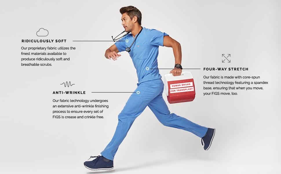 tops anatomy greys blue nurse uniform nursing medical healing sets pediatric dental veterinary