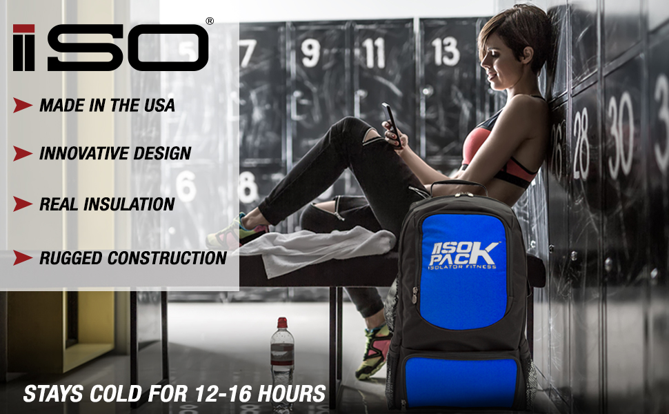 American Made  Meal Prep Bag. ISOPACKS are made in America. This means that  the insulation used ... 39949e15d914e