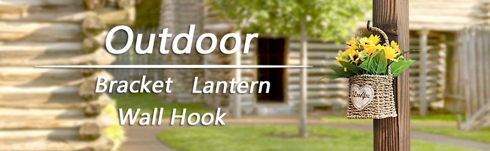 Outdoor hook