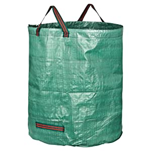 Decorlife 3-Pack 132 Gallons Garden Waste Bags Waste Leaf Bags for Gardening Lawn Pool Waste Bin Durable and Reusable Yard Waste Bags for Lawn and Leaves