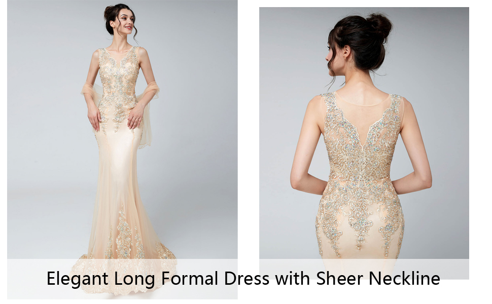 Belle House Evening Dresses Long For Women Formal Elegant Lace Prom Dresses New Mermaid Gowns