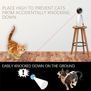 cat interactive laser toy laser pointer cat toy cat teasing toy laser red mouse cat toy automatic