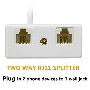 2 way Rj11