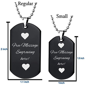 Stainless Steel Silver Gold Black Rose Gold Color Baby Name Savea Engraved Personalized Gifts For Son Daughter Boyfriend Girlfriend Initial Customizable Pendant Necklace Dog Tags 24 Ball Chain