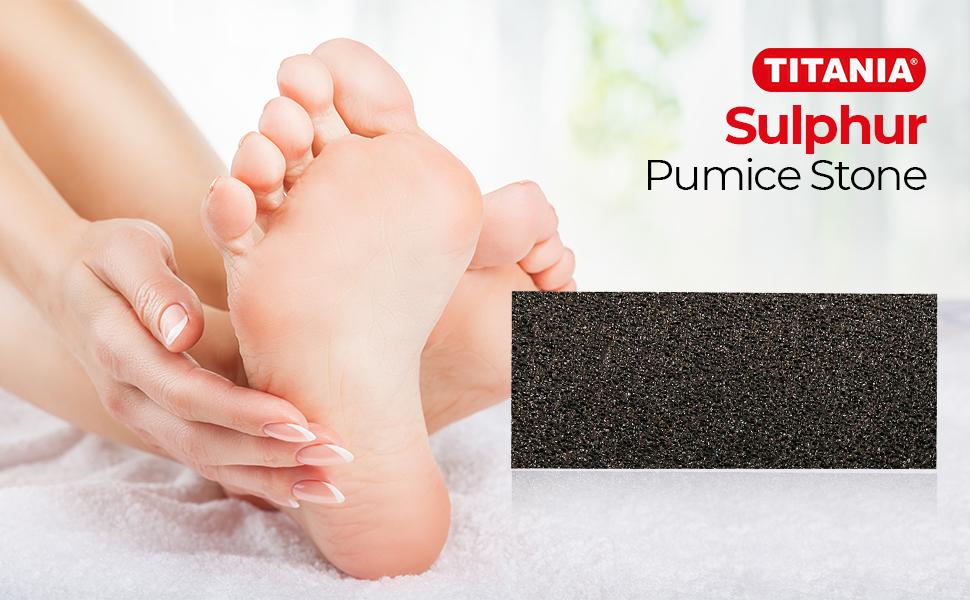 sulphur pumice stone
