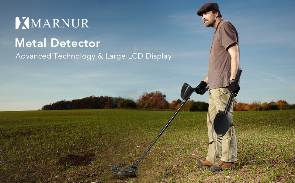 Whether you are a history lover, coin collector, or an outdoor enthusiast for some extra bonus, the MARNUR Metal Detector with High Accuracy and Large LCD ...