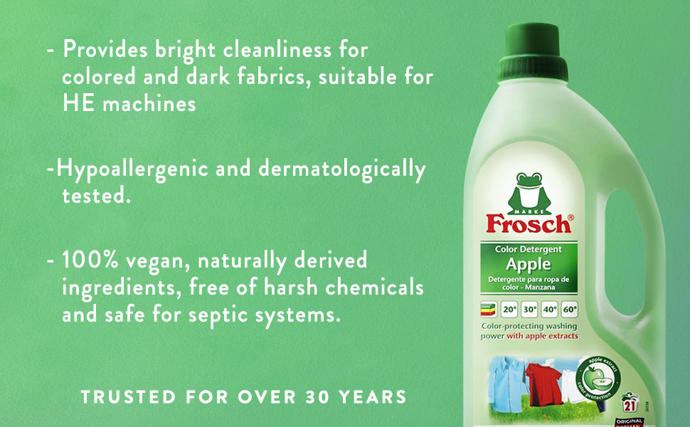 Amazon.com: Frosch EE. UU. Color detergente de lavandería ...