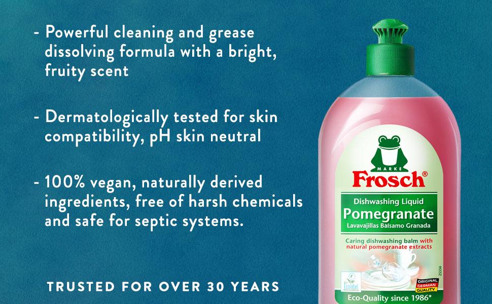Amazon.com: Frosch – Granada jabón de mano líquido de ...