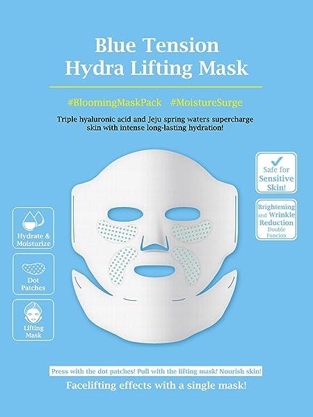 Hydrating Blue Dot Lifting Sheet Mask by snp #18