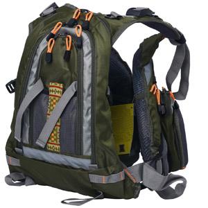Fly Fishing Backpack Adjustable Size Mesh Fishing Vest Pack , Fly Fishing Vest and Backpack Combo