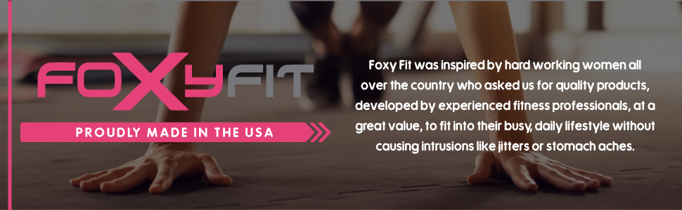 bcaa foxy fit foxyfit