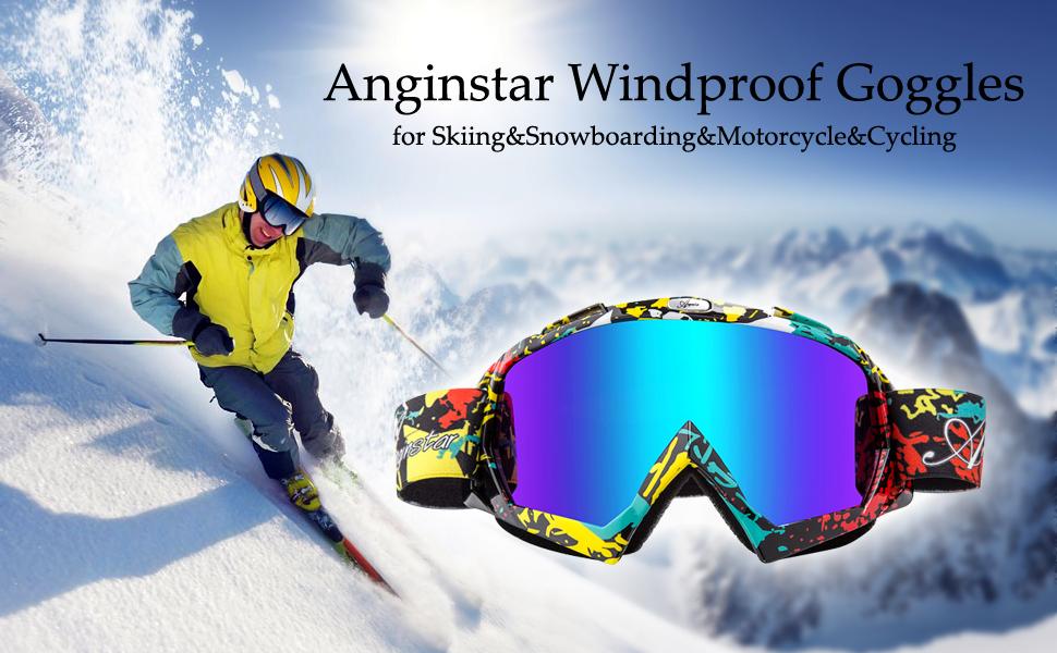 ad6326bd405 Amazon.com   Basecamp Ski Goggles