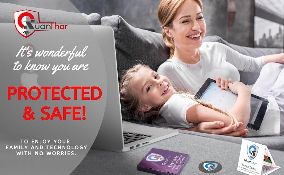 EMF exposure protection, EMF protection QUANTHOR