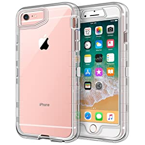 Hybrid Clear Protective Case for iPhone 6/6S