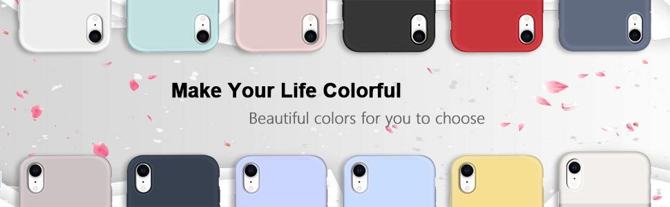 Hermosos colores a elegir.